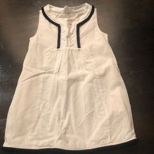 Crewcuts size 4 fully-lined white dress